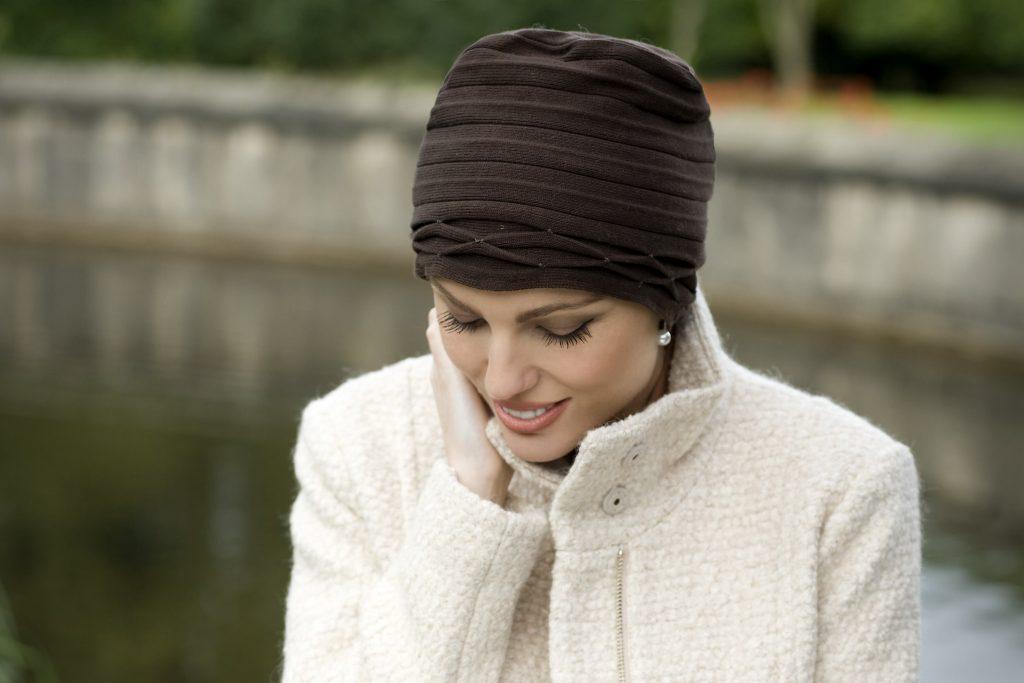 Chemotherapy turban for women - Olivia hat - by Masumi Headwear 4e091e75807e