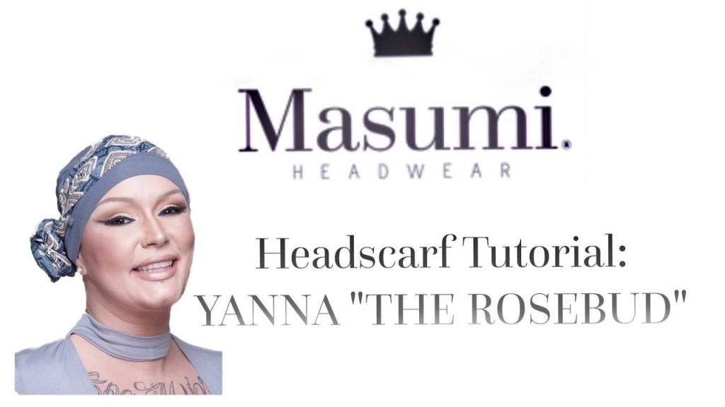 headscarf tutorial video capture 6