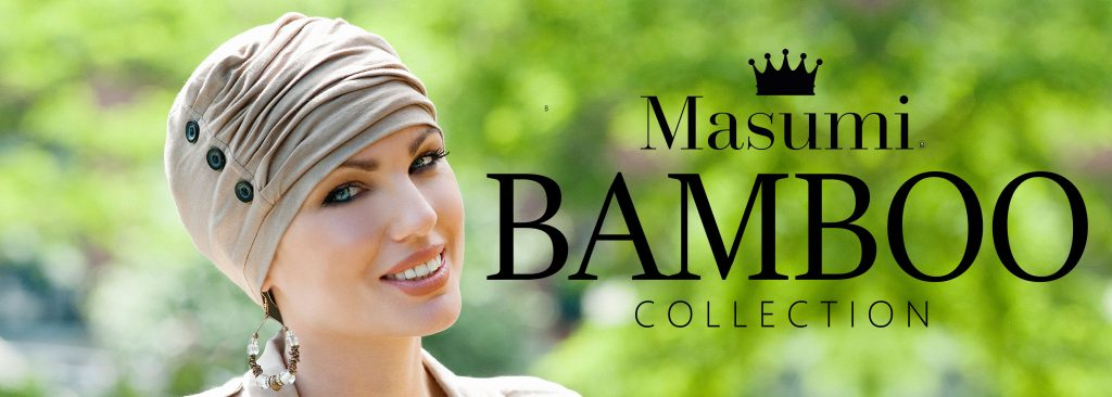 Masumi Headwear bamboo collection banner