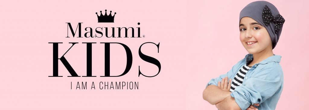 Masumi Headwear kids champions collection banner