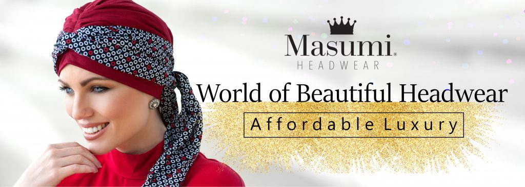 Masumi Headwear Affordable Luxury Banner