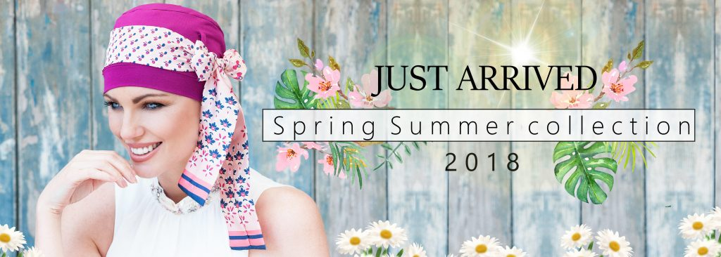 Masumi Headwear Spring Collection Banner