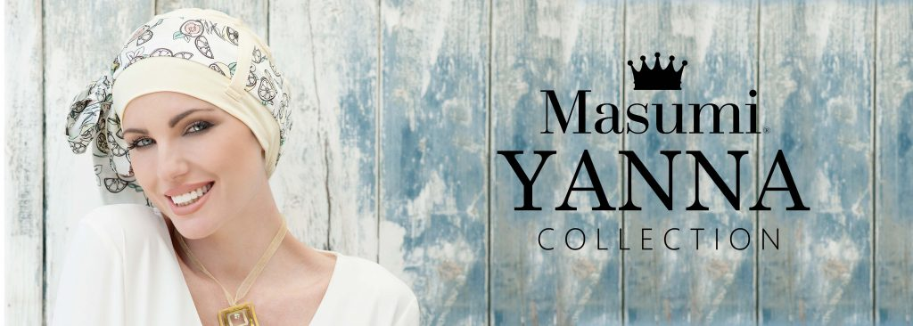Masumi Headwear Yanna style banner for spring summer 2019 collecton