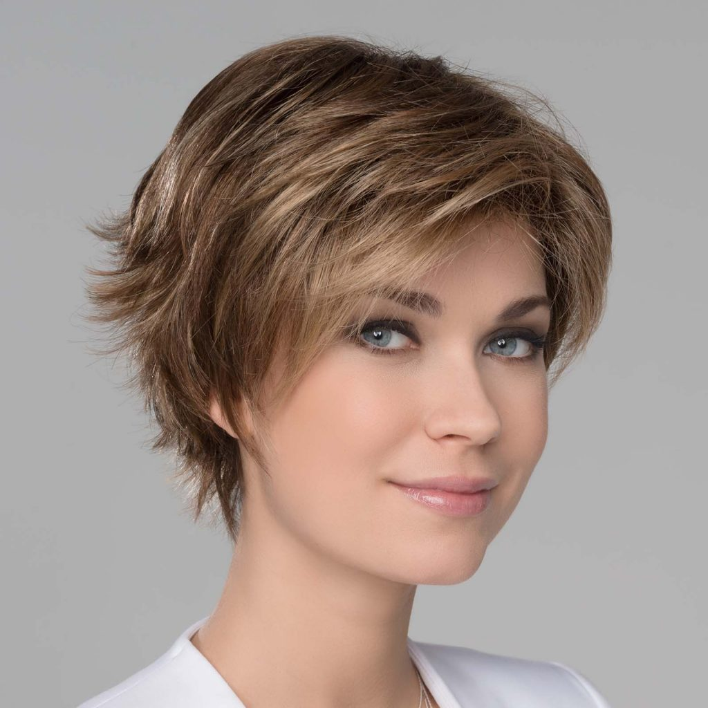 short length blonde lace front wig