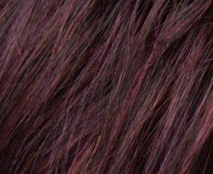 hot aubergine mix wig