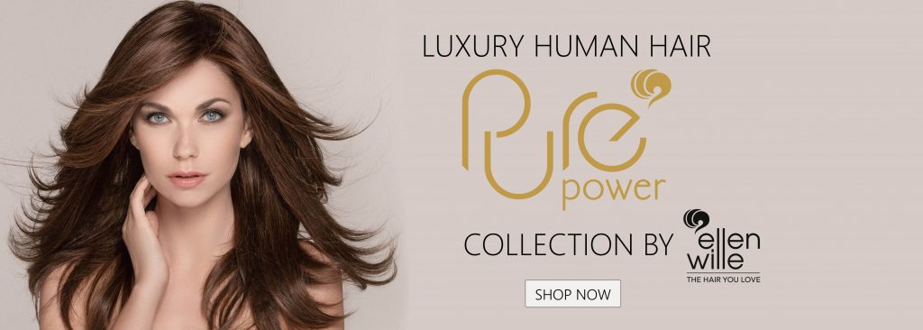 Human Hair Wigs Pure Power collection Ellen Wille